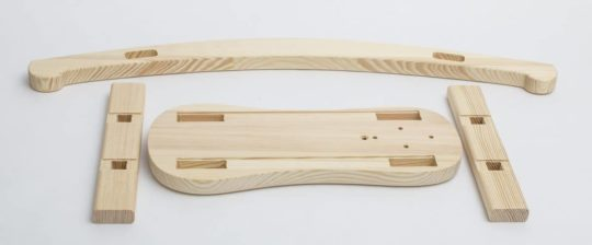 Wooden parts to produce rocking horse Čenda 28