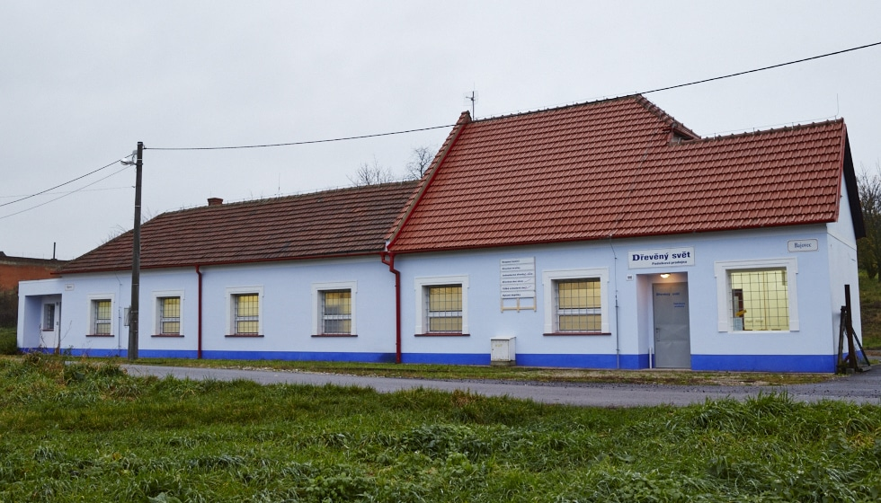Our manufacturing shop and the outlet store, Bajovec 755 a 1910, Uherský Brod, Czech Republic