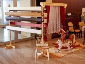 Prezentace dřevěných houpacích koňů a garnýží na Brodexpo 2016