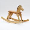 Dřevěný houpací koník lakovaný