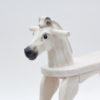 Hlava s držátky pro bezpečné houpání - koník Čenda 28 bělouš