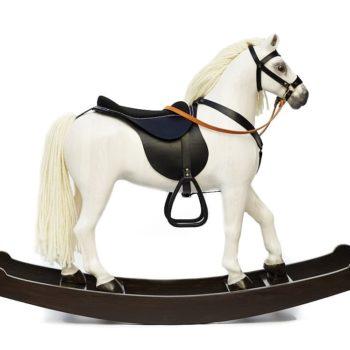 Houpací kůň Čenda 53 bělouš pro děti od 2 let