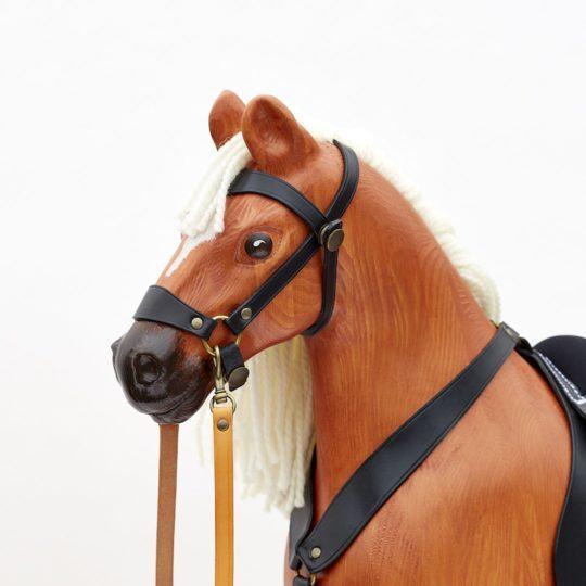 Houpací kůň Čenda 53 ryzák - detail hlavy