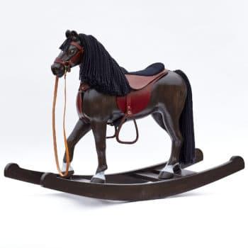 Klenot naší výroby - velký houpací kůň Čenda 53 (vraník)