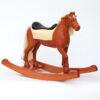 Houpací kůň dřevěný pro děti od dvou let