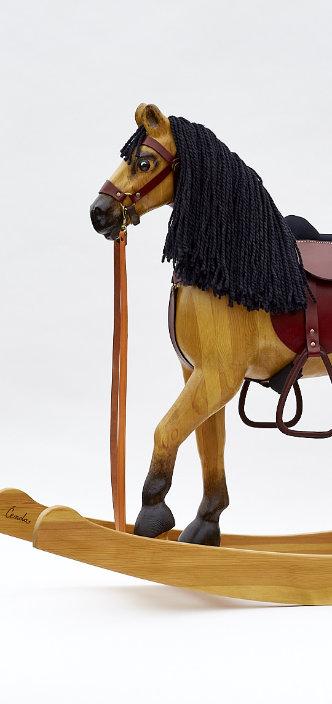 Dřevěný houpací kůň Čenda 53 plavák
