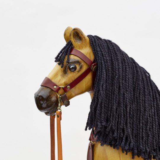 Velký dřevěný houpací kůň, plavák - hlava