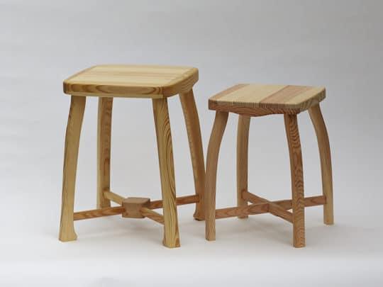 Srovnání dřevěné stoličky Robusta a Sella 35